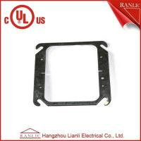 China Two Gang Electrical Square Outlet Cover Without Screws , 1.0mm to 1.6mm Thickness on sale