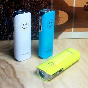 China Led Torch Light USB Power Bank 5200mah on sale