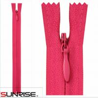 Buy cheap 3# 2014 customized zipper invisible zipper color teeth color tape wholesale from wholesalers