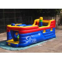 Wholesale Kids commercial pirate ship inflatable obstacle course for outdoor and indoor interactive fun from china suppliers