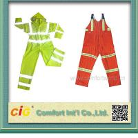 High Visibility ANSI CLASS 3 Winter Workmen Safety Coat Reflective Safety Vests / Clothes