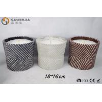 Wholesale Mosquito Repellent Oil White Burning Candle in Pot Or Twill Cylinder Cement from china suppliers