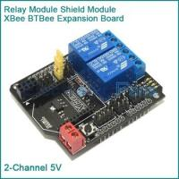 Wholesale 5V Two 2 Channel Relay Module Shield Module XBee BTBee Expansion Board for Arduino from china suppliers