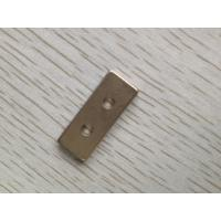 Wholesale Highest Grade Rectangular Sintered Ndfeb Magnets With Hole Corrosion Resistant from china suppliers