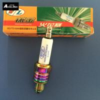 Wholesale Ceramice Colorful Motorcycle Spark Plugs W / L U3AS / A7TC Nickel With Tip Electrode from china suppliers