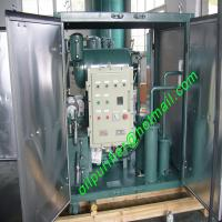 Buy cheap Single Stage Vacuum Transformer oil Purifier,oil filtration,insulation oil Regeneration Plant with CT Explosion-proof from wholesalers