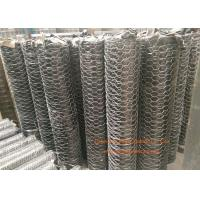 "Wholesale 1 / 4"" Galvanized Hexagonal Gabion Wall Mesh 0.5 - 2.5m Width For Poultry Netting from china suppliers"