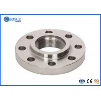 China 2-24 Threaded Pipe Flange , Inconel 625 Flanges Nickel Base Alloy Material on sale