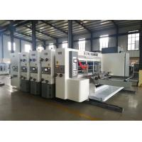China Module Designed Flexo Corrugated Machine / Flexo Printer Slotter Die Cutter on sale