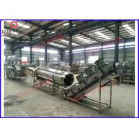 Wholesale Rice Chips Puff Making Machine , Snack Cereal Corn Processing Machine Equipment from china suppliers