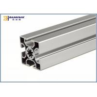 Europen Style Bosch Rexroth  50mmX50mm T Slotted V Slot Industrial Aluminium Profile for sale