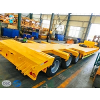 China Mining Machinery 60000kg  Fuwa Heavy Duty Low Bed Trailers on sale