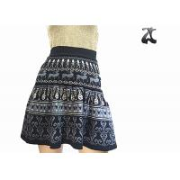Wholesale Elastic Waistband Wool Girls Knit Skirt A Line Silhouette Comfortable Lightweight from china suppliers