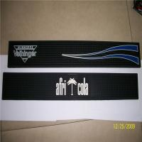 China colorful custom silicone /soft pcv bar mats /coasters with logo debossed/printed/embossed on sale