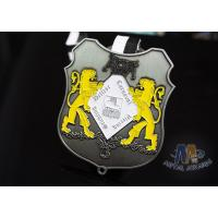 Buy cheap Small Two Lions Logo Enamel Medals Custom Made For Festival Water Proof from wholesalers