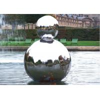 Wholesale Polished Stainless Steel Outdoor Sculpture Hollow Sphere Shaped For Pool Decoration from china suppliers