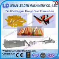 Wholesale Multifunction stainless steel chewing jams center pet food processing line from china suppliers
