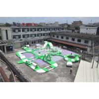 Wholesale Customized Open Water Giant Inflatable Floating Water Park Games For Adults / Kids from china suppliers
