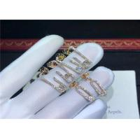 Wholesale Sophisticated 18K Gold Messika Jewelry For Young Women Customization Available from china suppliers