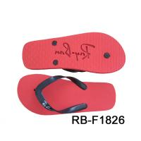 China customed eva die cut and embossed slipper  Womens Flip flop thongs slipers manufacturers for sale