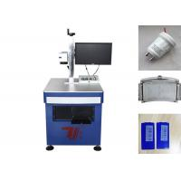 China 20W Fiber Laser Engraver for Metal and  Plastic Product , Fiber Laser Etching on sale