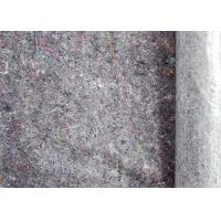 Quality Dark Grey 5mm Felt 240gsm Recycled Felt Fabric Backing With PE Film For Decorating for sale