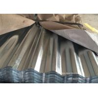 Buy cheap Waved Galvanized Steel Sheet Plates For Roofing , Walls , Ceiling from wholesalers