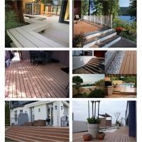 Wholesale Composite decking with High Quality, Outdoor cheapwpc decking from china suppliers