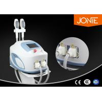 Buy cheap Intense Pulse light Laser SHR Hair Removal Machine with 0 - 50 J / cm2 RF Energy from Wholesalers