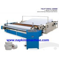 Wholesale Custom Printed Toilet Paper Roll Cutting Machine With Embossing System from china suppliers