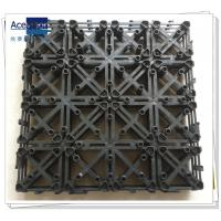 Wholesale PB-01 Upgrade Interlocking Plastic base for WPC decking tile from china suppliers