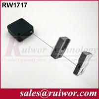 Wholesale 44x44x16MM White / Black Security Pull Box With Adhesive Magnetic Display Holder End from china suppliers