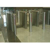 Quality Metro 1.2 Miles 304 Stainless Steel Speed Gates  Pedestrian Turnstile for sale