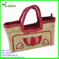 China Trimming embroidery straw bags on sale