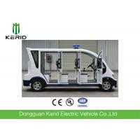 China 5kW Electric Sightseeing Car With Heater For Public Area Patrol on sale