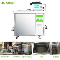 Wholesale 360L Auto Parts Ultrasonic Cleaner with 28khz Strong Frequency Power Adjustable from china suppliers
