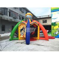 Wholesale Sport World Inflatable Interactive Games , Giant Inflatable Basketball Hoop from china suppliers