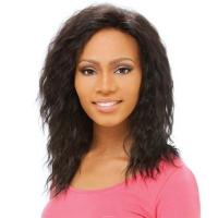 100% human hair Jeri curl lace wig