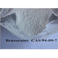 Wholesale Pain Killer Local Anaesthesia Drugs , Pure Benzocaine Powder Cas 94 09 7 99% Assay from china suppliers