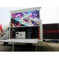 China Truck Mounted 10KW - 12KW Mobile Power Recreational Vehicle Generators Single Phase Three Wire on sale