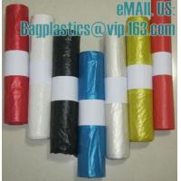 Wholesale bin liner, seal bags, c-fold bags, bags on roll, roll bags, produce roll, HDPE sacks from china suppliers