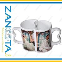 Wholesale love mug with sublimation coating from china suppliers