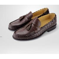 Buy cheap Italian very comfortable style hot sale leisure casual men shoes with special design handmade woven men shoes from wholesalers