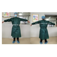 Wholesale SMS Non woven surgical protection gown production line from china suppliers
