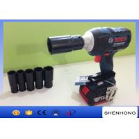 Wholesale Portable Adjustable Electric Torque Impact Rechargeable Wrench 18V 50 - 60 HZ from china suppliers