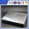 Industrial aluminum radiator profile /anodized aluminum extrusion heatsink for industry for sale
