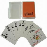 Wholesale Customized Plastic Playing Cards, Small Orders are Welcome from china suppliers