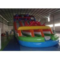 Wholesale Exciting Commercial Inflatable Slide , Sea Animal Inflatable Slip and Slide from china suppliers