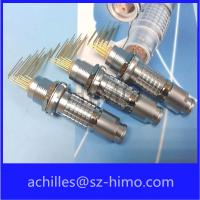 ip50 circular lemo replacement connector wit pcb contact pin for sale