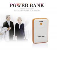 Power Bank Rechargeable Battery , Portable External Powerbank 2A Output for sale